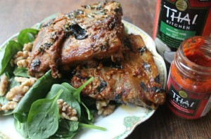 Red Curry Coconut Pork Ribs