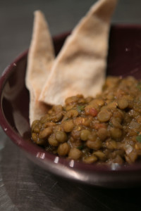 Lentils and Bread