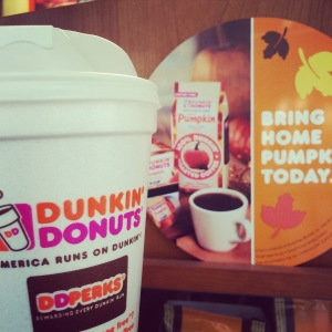 Dunkin Donuts Pumpkin