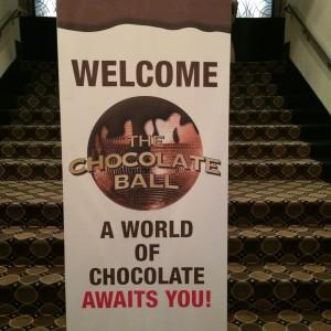 Chocolate Ball Sign