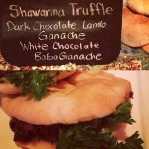 Chocolate Shawarma