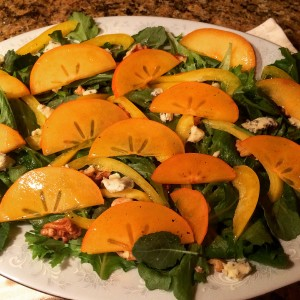 Persimon Salad