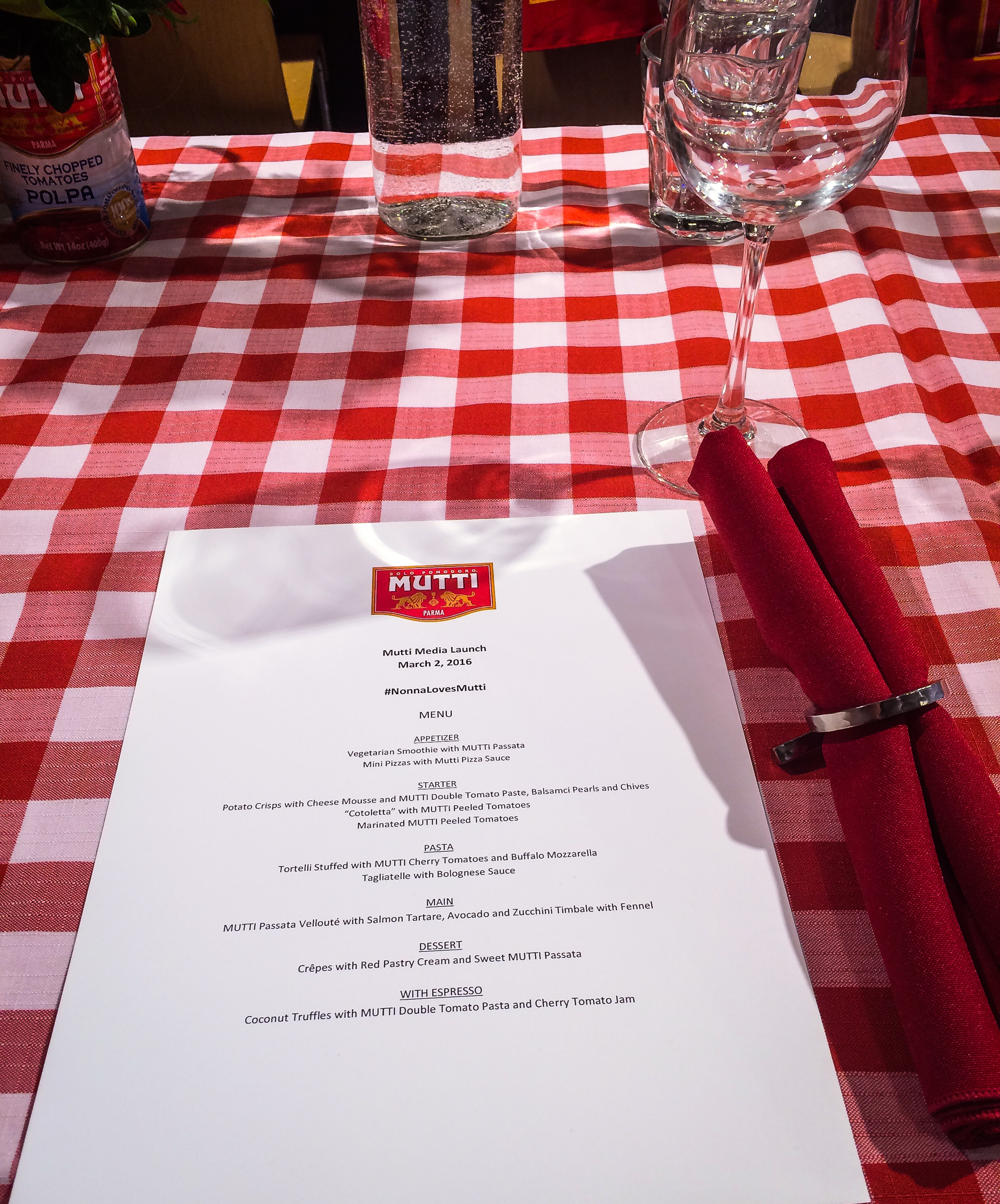 Mutti Menu